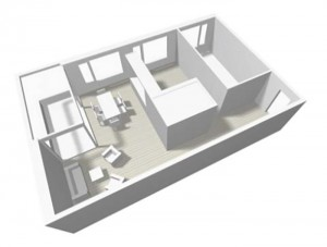appartement angle